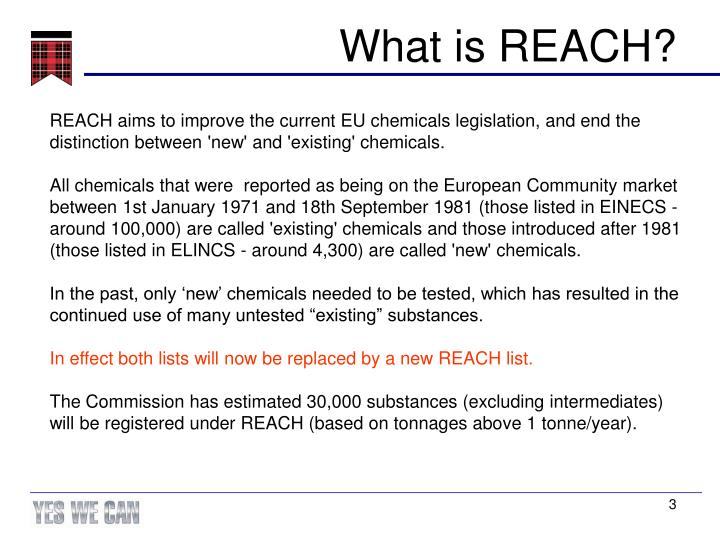 What is reach1