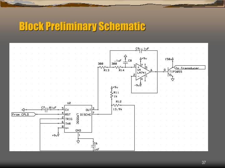 Block Preliminary Schematic