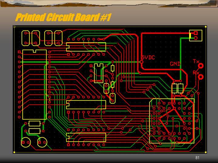 Printed Circuit Board #1