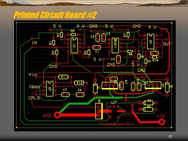 Printed Circuit Board #2