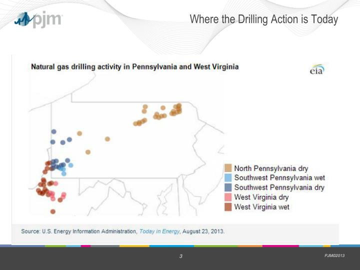 Where the drilling action is today