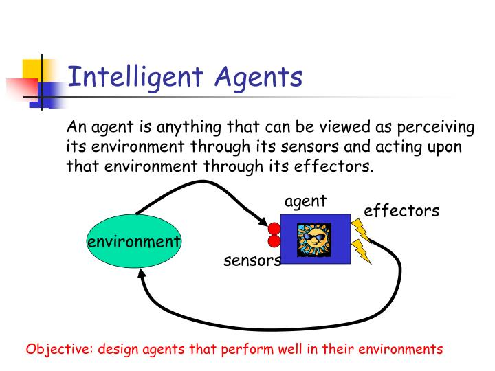 Intelligent agents1