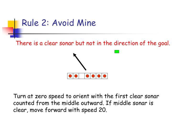 Rule 2: Avoid Mine
