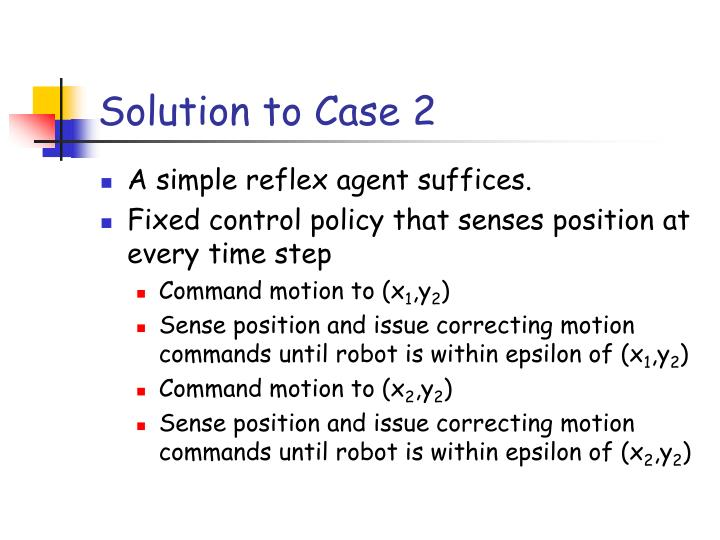 Solution to Case 2