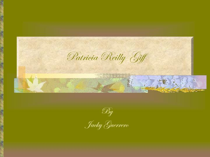 patricia reilly giff n.