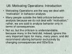 u6 motivating operations introduction