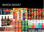 which soda