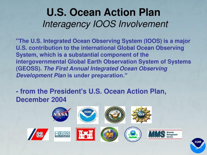 ioos integrated ocean observing system essay 1 the integrated ocean observing system (ioos) modeling and analysis workshop report the national office for integrated and sustained ocean observations.