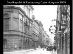 betelkapellet restaurang oxen hungaria 1939