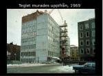 teglet murades uppifr n 1969