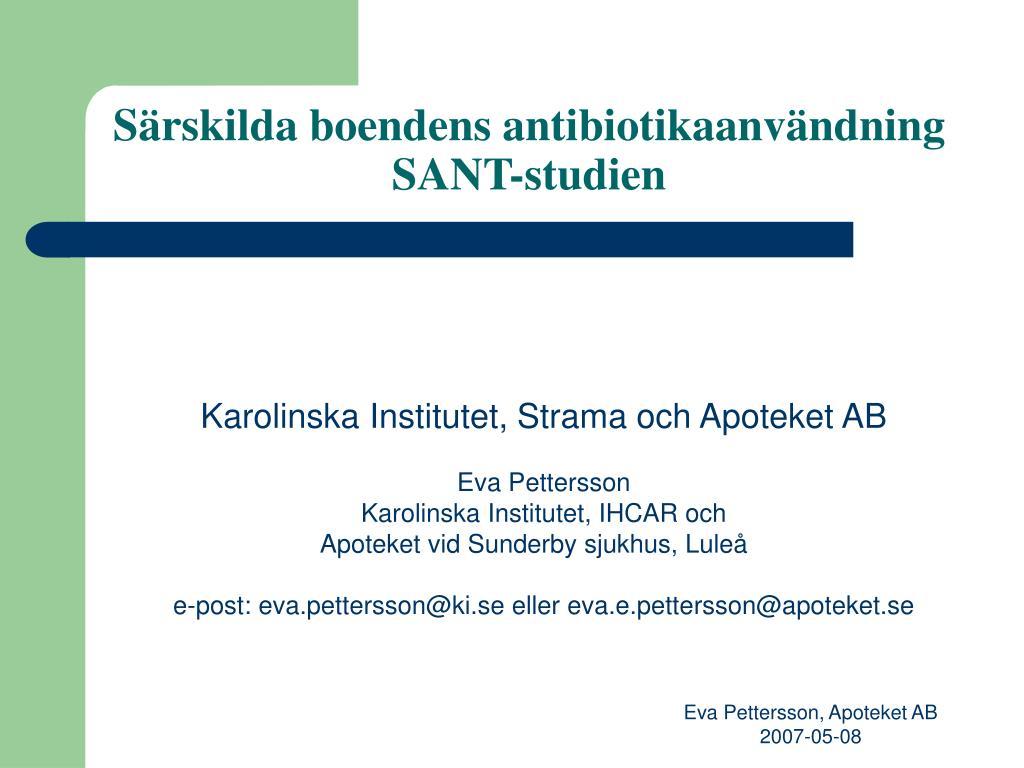 antibiotika för uvi