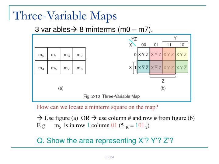 Three-Variable Maps