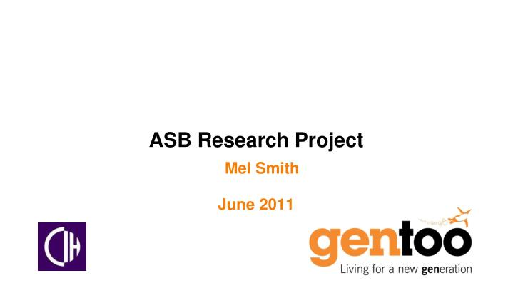 asb research project n.