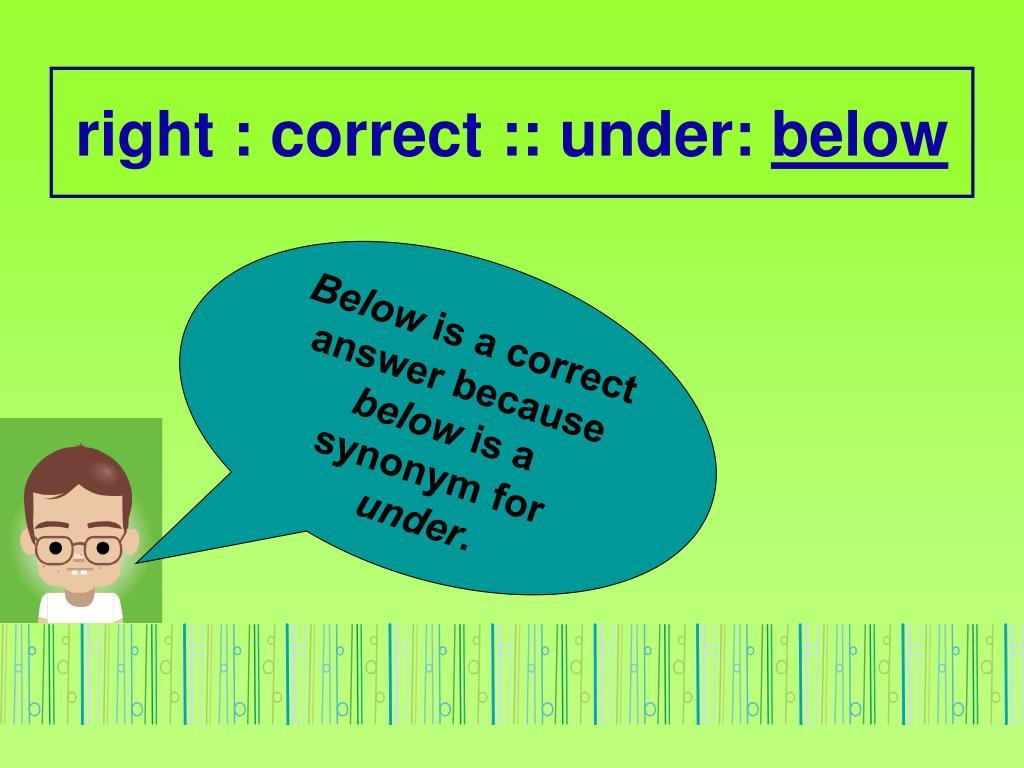 PPT - Analogies 1 PowerPoint Presentation - ID:4455276