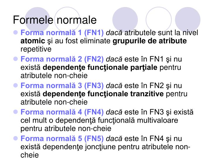 Formele normale