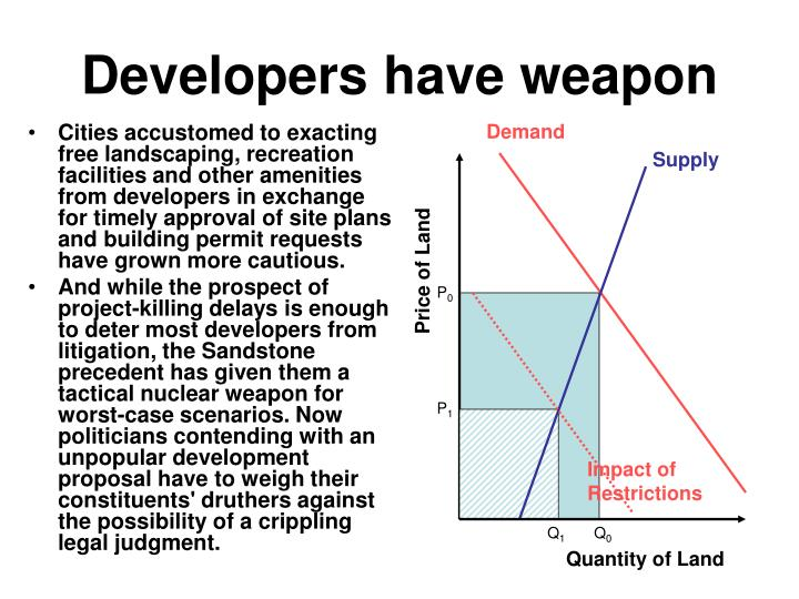 Developers have weapon