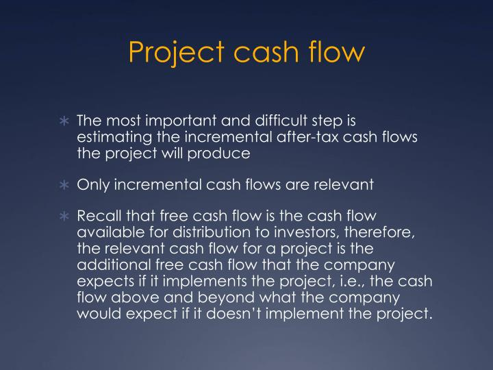 projecting cash flow Ec-616 purdue university a projected cash flow statement is used to evaluate in estimating receipts and expenses and in projecting the timing of those.