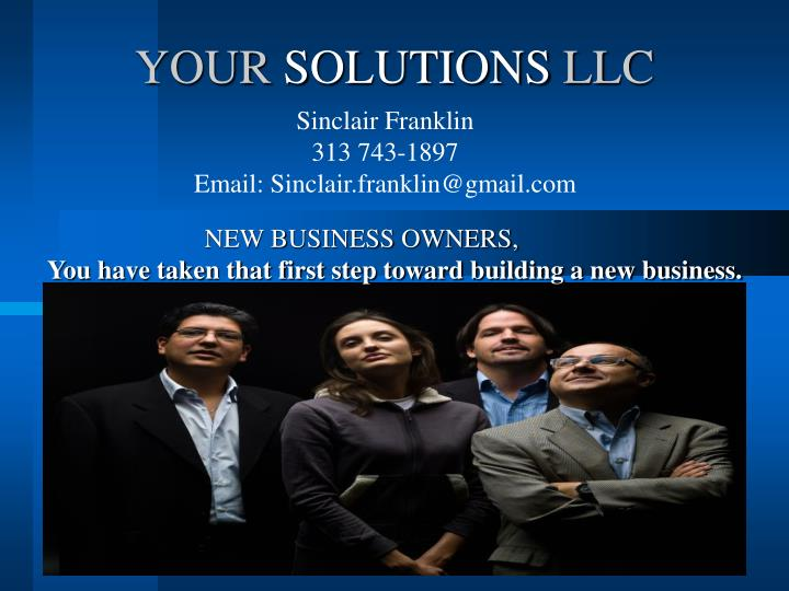 your solutions llc n.