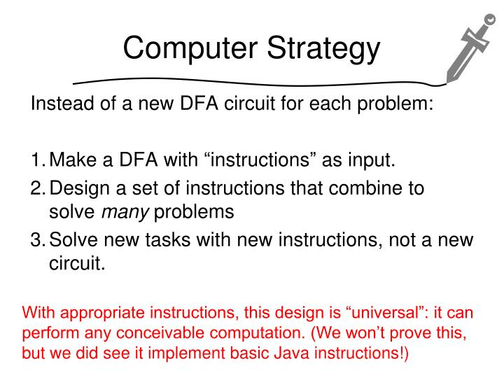 Computer Strategy