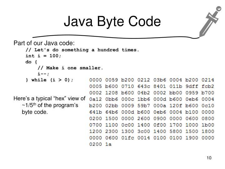 Java Byte Code