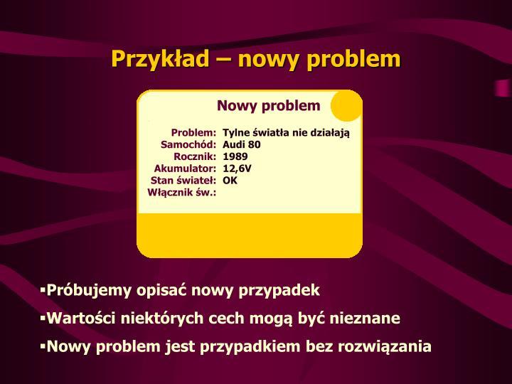 Nowy problem