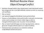 m ethod resolve k lase objectchangeconflict1