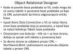 object relational designer2