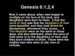 genesis 6 1 2 4