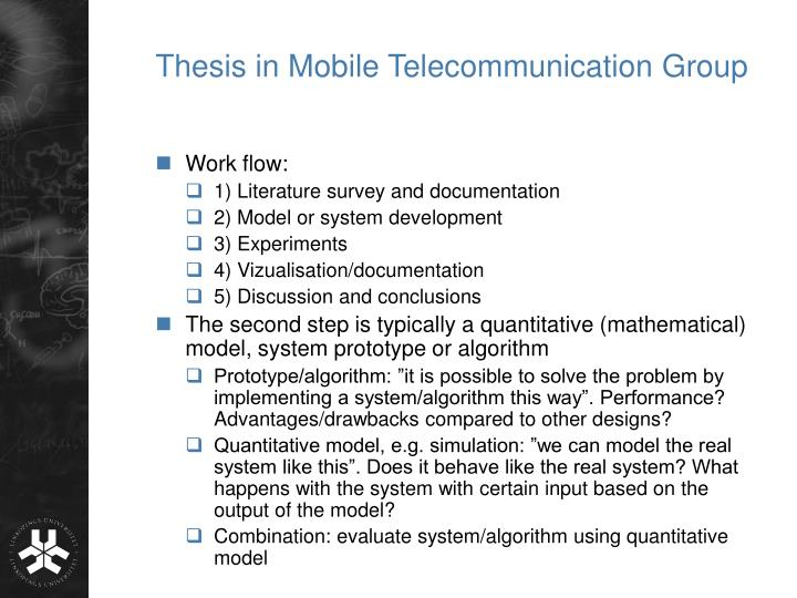essay about telecommunication Telecommunication principles l023 determine the bandwidth and expected information capacity of typical communication systems q1 (a) describe the main factors upon which the maximum data rate over a channel depends (b) state the nyquist theorem and the shannon theorem for data channel capacity and explain the main difference.