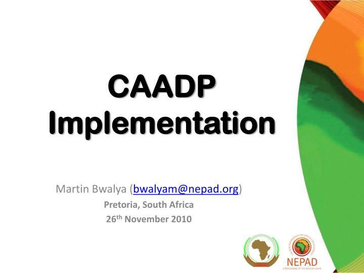 business analysis nepad The new partnership for africa's development (nepad): opportunities and challenges the new partnership for africa's development (nepad): the analysis.