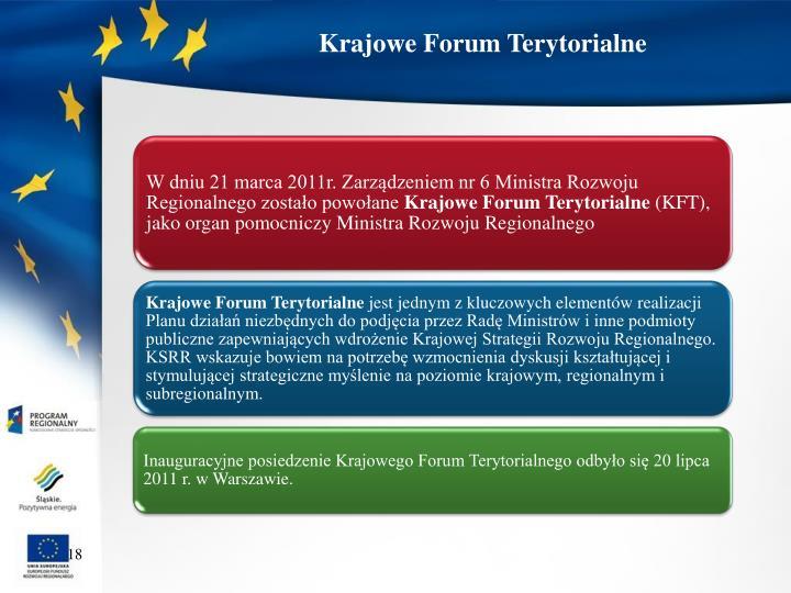Krajowe Forum Terytorialne