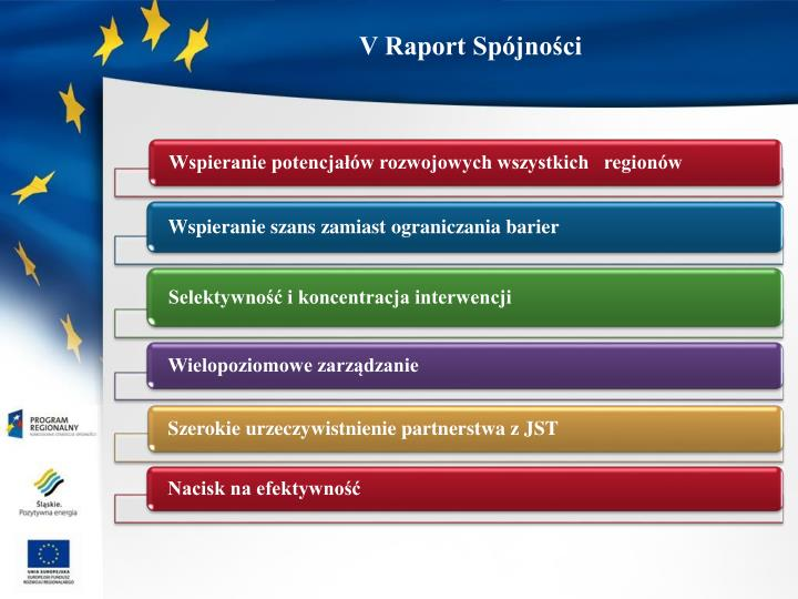 V Raport Spójności