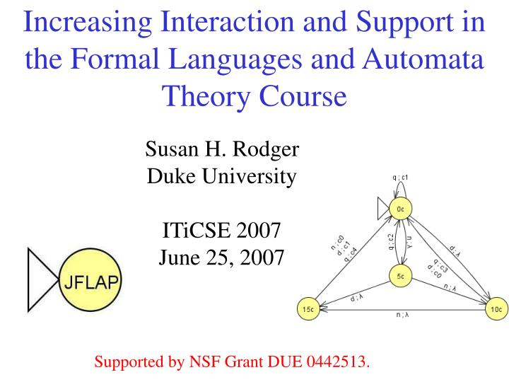 Introduction to automata theory, languages and computation.