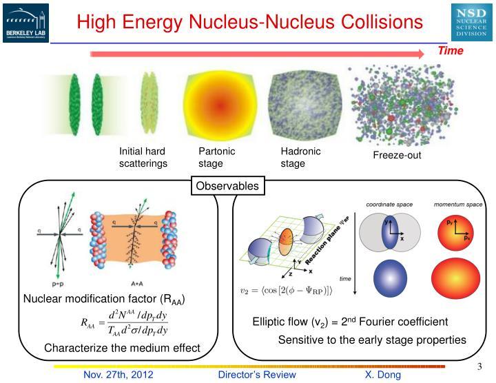 High energy nucleus nucleus collisions
