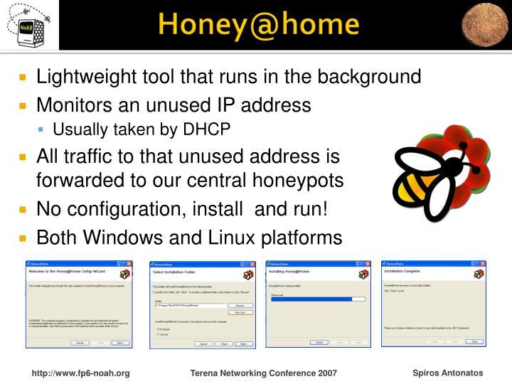 Honey@home