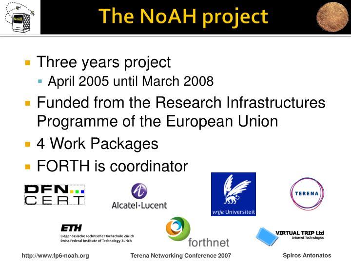 The noah project