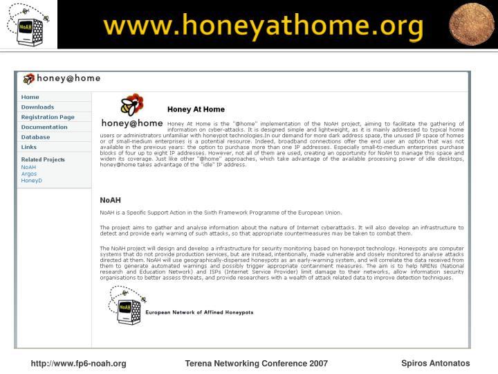 www.honeyathome.org