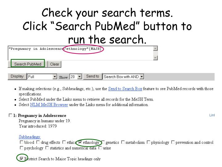 Check your search terms.