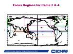 focus regions for items 3 4