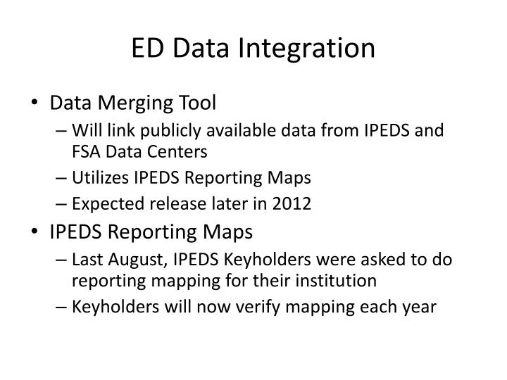 ED Data Integration
