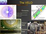 the velo