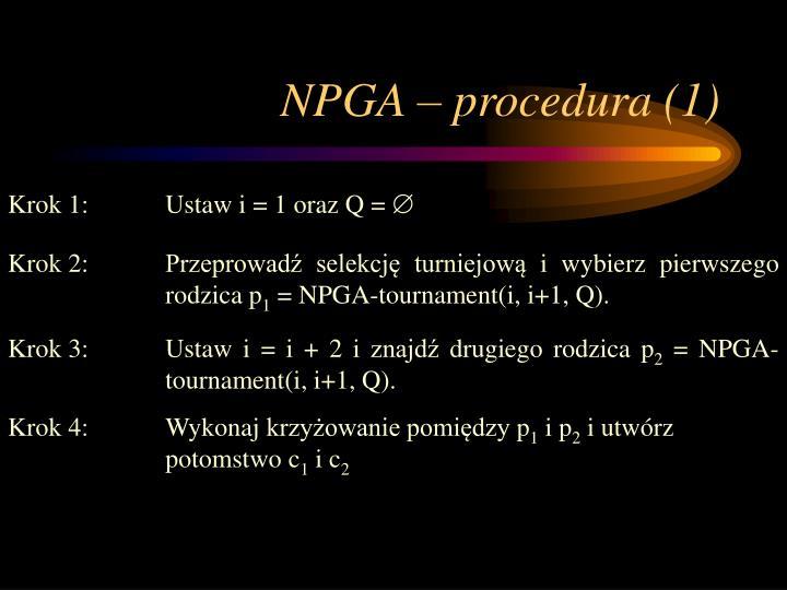 NPGA – procedura (1)