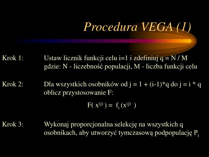 Procedura VEGA (1)