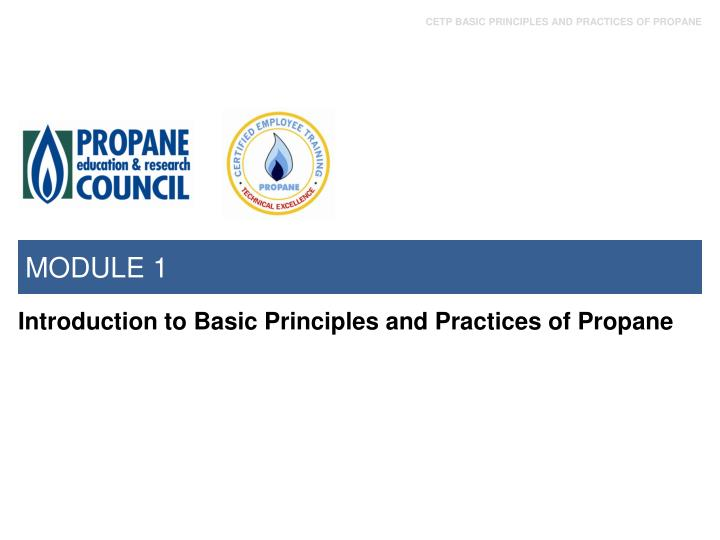 Ppt Basic Principles And Practices Of Propane Powerpoint