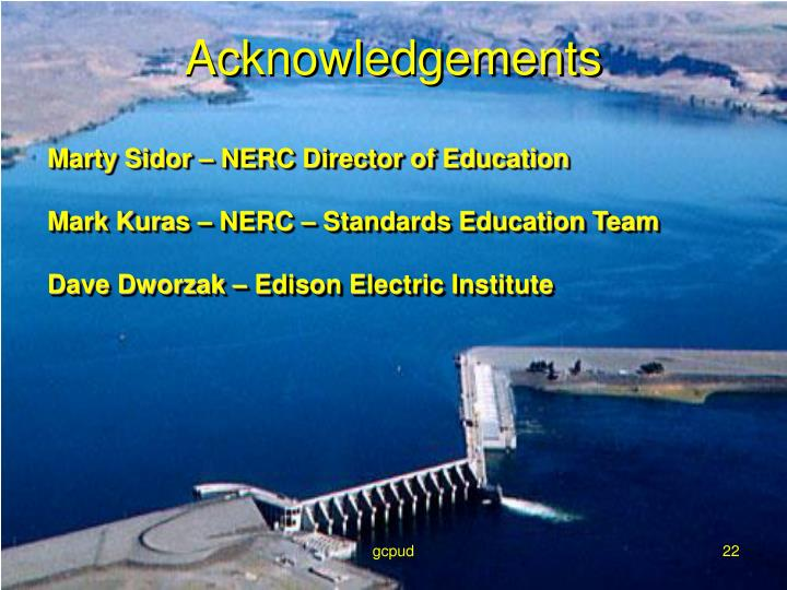 Marty Sidor – NERC Director of Education