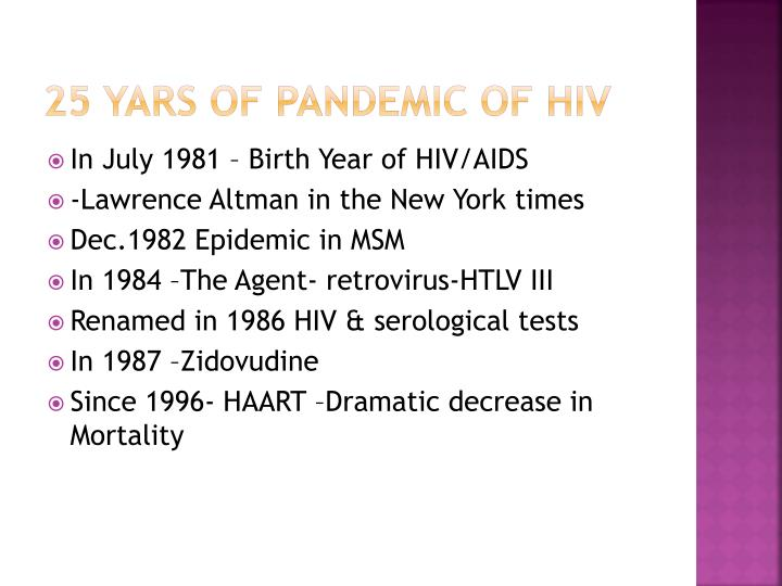 an examination of hiv pandemic Pandemic pandemic speaker an epidemic of disease, or other health condition, that occurs over a widespread area (multiple countries or continents) and usually affects a sizeable part of the population.