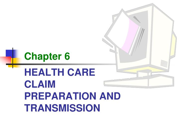 ch 8 claim preparation and transmission Preparation areas, waiting rooms, and other areas used by the patient or offered for use to patients needing surgical procedures it includes all services and procedures provided in.