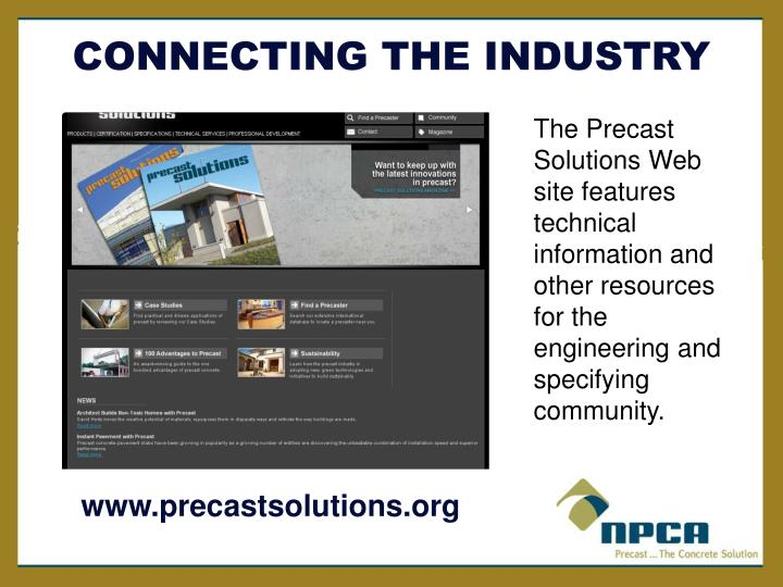 Www precastsolutions org
