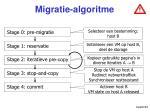 migratie algoritme