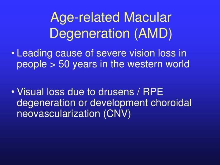 Age-related Macular Degeneration (AMD)